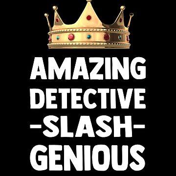 amazing detective slash genious by febolton