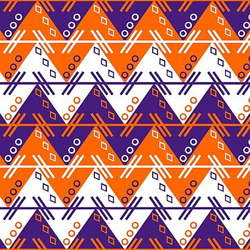 Aztec Chevron Dress | Clemson by CollegeTown