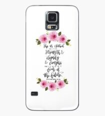Proverbs 31:25  Case/Skin for Samsung Galaxy
