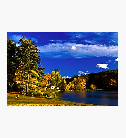 Crystal Lake, NH Photographic Print