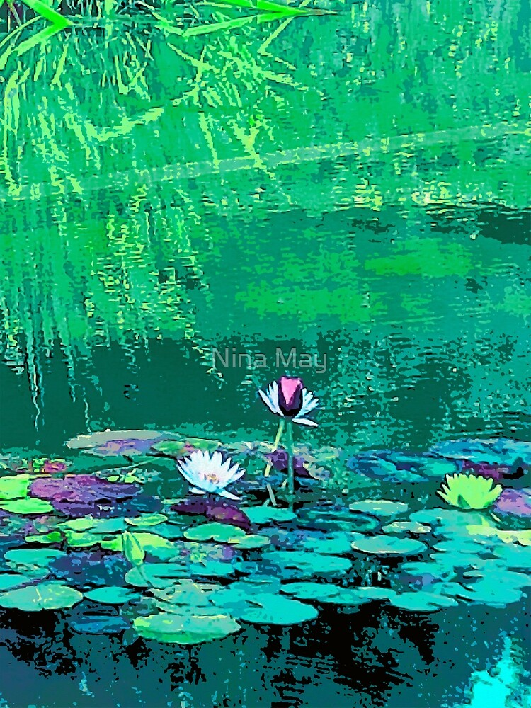 Beverly Hills Waterlilies by Nina May