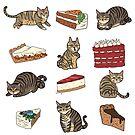 « Chats et gâteaux » par Tirmes