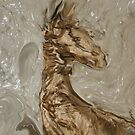 I was suppose to be a Giraffe and look what happen I am a Abstract Horse by SherriOfPalmSprings Sherri Nicholas-