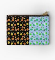 Light and dark leaves Studio Pouch