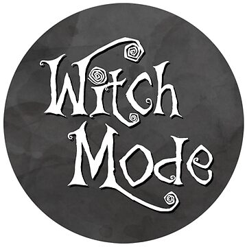 Witch Mode - Smoke Grey by picadillyprints