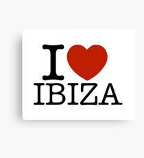 Lienzo Amo Ibiza