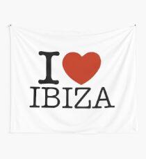 I love Ibiza Tapestry