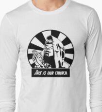Headhunterz - This is our church Long Sleeve T-Shirt