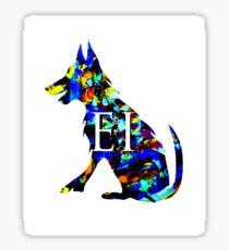 Salty Dog Emerald Isle NC Sticker