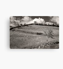 History In The Hills Canvas Print