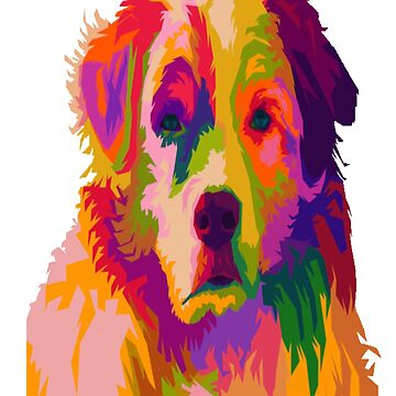 Colorful puppy by sager4ever