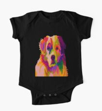 Colorful puppy One Piece - Short Sleeve