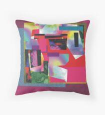 abstrat composition Throw Pillow