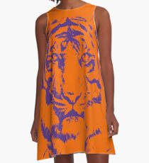 Royal Tiger Gameday Dress | Clemson Orange A-Line Dress
