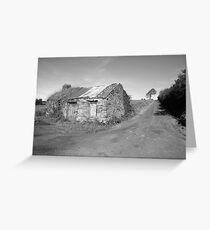 Rural county Clare cottage (Clare) Greeting Card