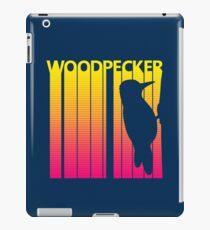 Retro 1980s Woodpecker iPad Case/Skin