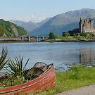 Eilean Donan Castle in the summer by David Rankin