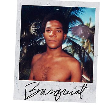 JEAN-MICHEL Basquait - Polaroid Picture by queendeebs