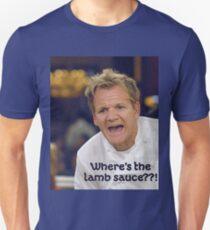 Lamb Sauce? Unisex T-Shirt