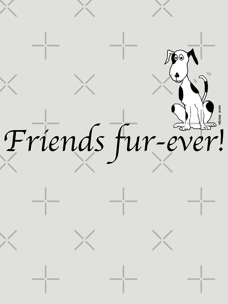 Deefa dog - Friends fur-ever! by Mindreader