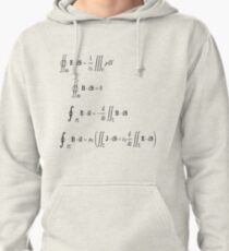 Maxwell's equations, #Maxwells, #equations, #MaxwellsEquations, #Maxwell, #equation, #MaxwellEquations, #Physics, #Electricity, #Electrodynamics, #Electromagnetism Pullover Hoodie