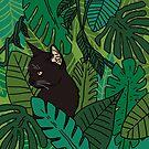 « Chat de panthère dans la jungle » par Tirmes