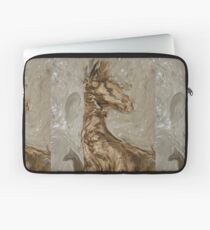I was suppose to be a Giraffe and look what happen I am a Abstract Horse Laptop Sleeve