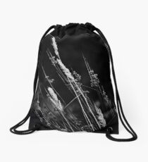 wild grass Drawstring Bag