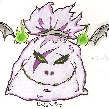 Purple Baddie Bag by BrokenBleedingAngel