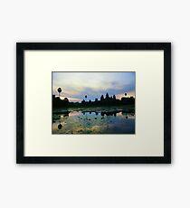 Angkor Wat : Cambodia Framed Print