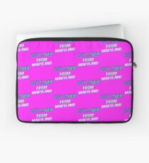 Dog Lover From Maryland Laptop Sleeve