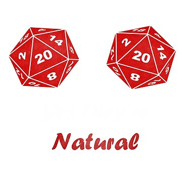 Yes They're Natural 20 D20 by djon31