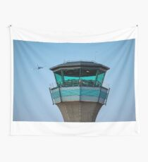 Control Tower Wall Tapestry