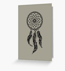 Dream Catcher, dreamcatcher, native americans, american indians, protection Greeting Card