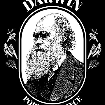Charles Darwin Pope of Science Evolution  by jtrenshaw