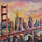 Golden Gate Bridge - San Francisco by Joy Skinner
