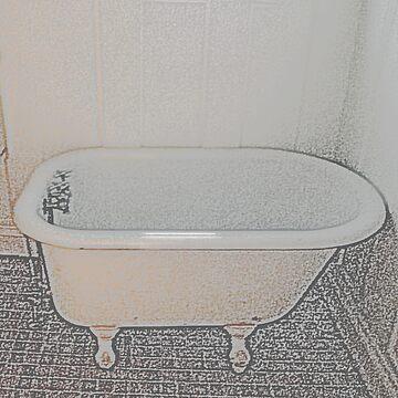 Old-Time Bathtub by BettyMackey