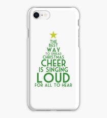 Spread Christmas Cheer iPhone Case/Skin