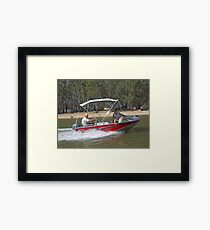 Up the River Framed Print