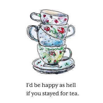 Stay for Tea by kamekern