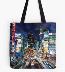 Tokyo traffic Tote Bag
