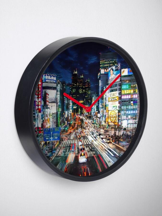 Alternative Ansicht von Tokyo Verkehr Uhr
