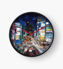 Tokyo traffic Clock