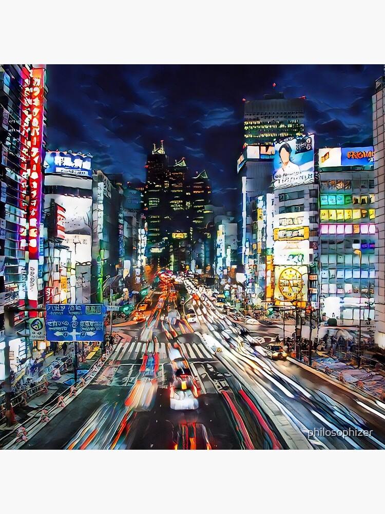 Tokyo Verkehr von philosophizer