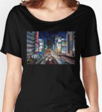Tokyo traffic Women's Relaxed Fit T-Shirt