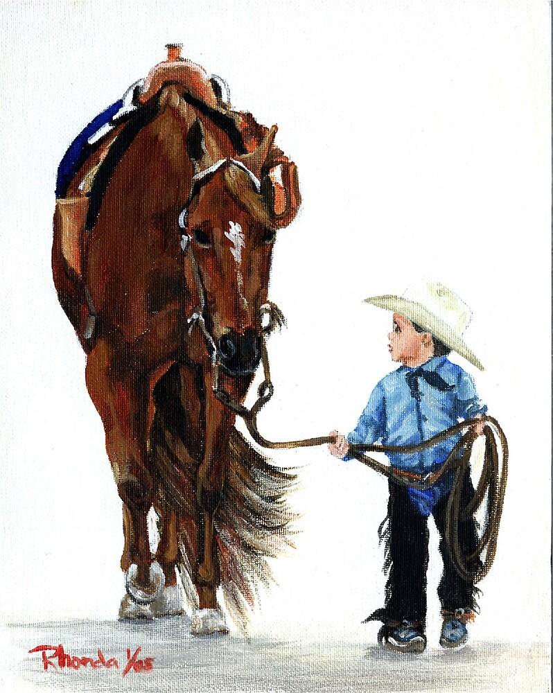 Western Pleasure Quarter Horse Portrait by Oldetimemercan