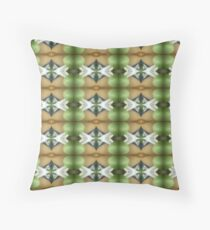 The Coming Green Throw Pillow