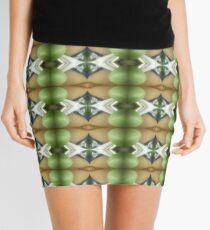 The Coming Green Mini Skirt