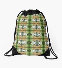 The Coming Green Drawstring Bag