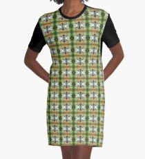The Coming Green Graphic T-Shirt Dress